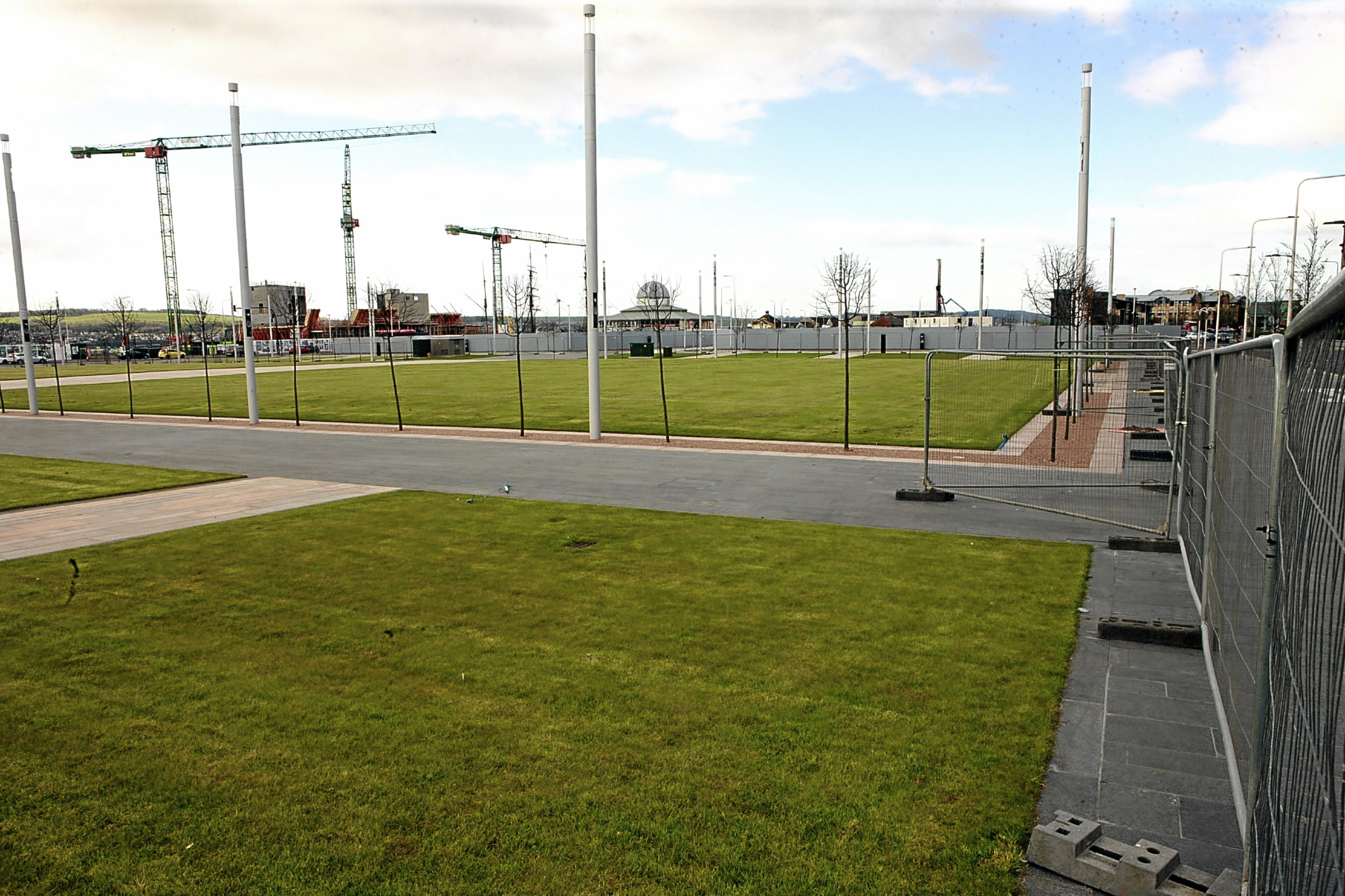 Slessor Gardens could host Christmas celebrations.