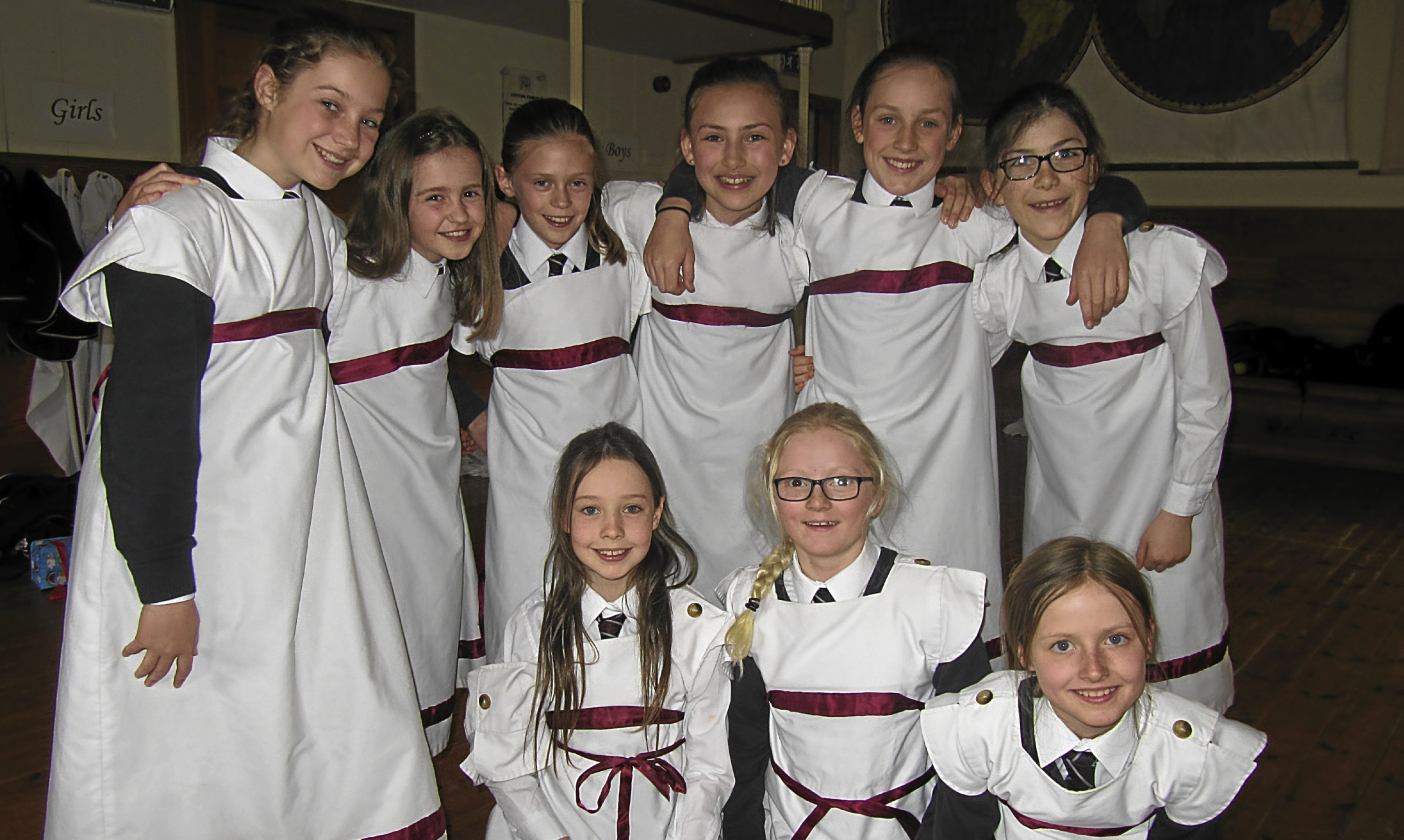 Primary 6 pupils from Morrisons Academy stepped back in time during a successful visit to the award-winning New Lanark World Heritage site.