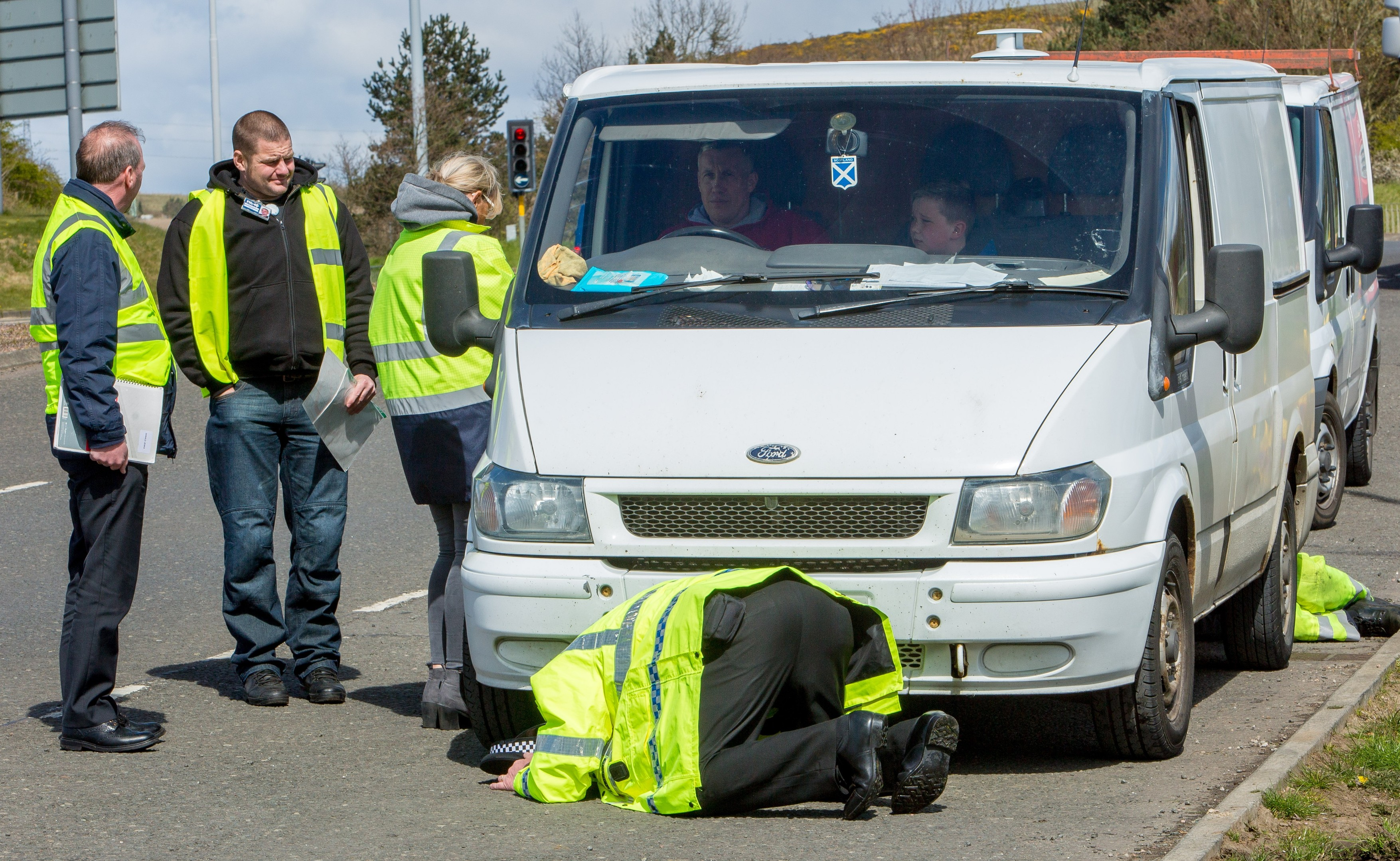 A multi agency effort to crackdown on bogus traders was launched in Fife.