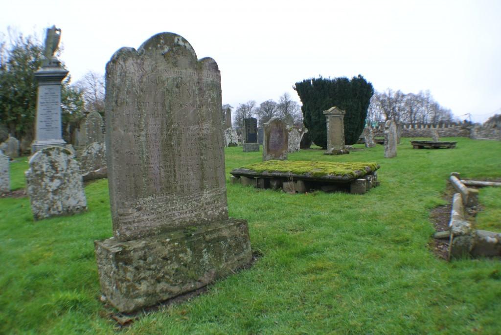 James Croll's gravestone in Cargill Cemetery.