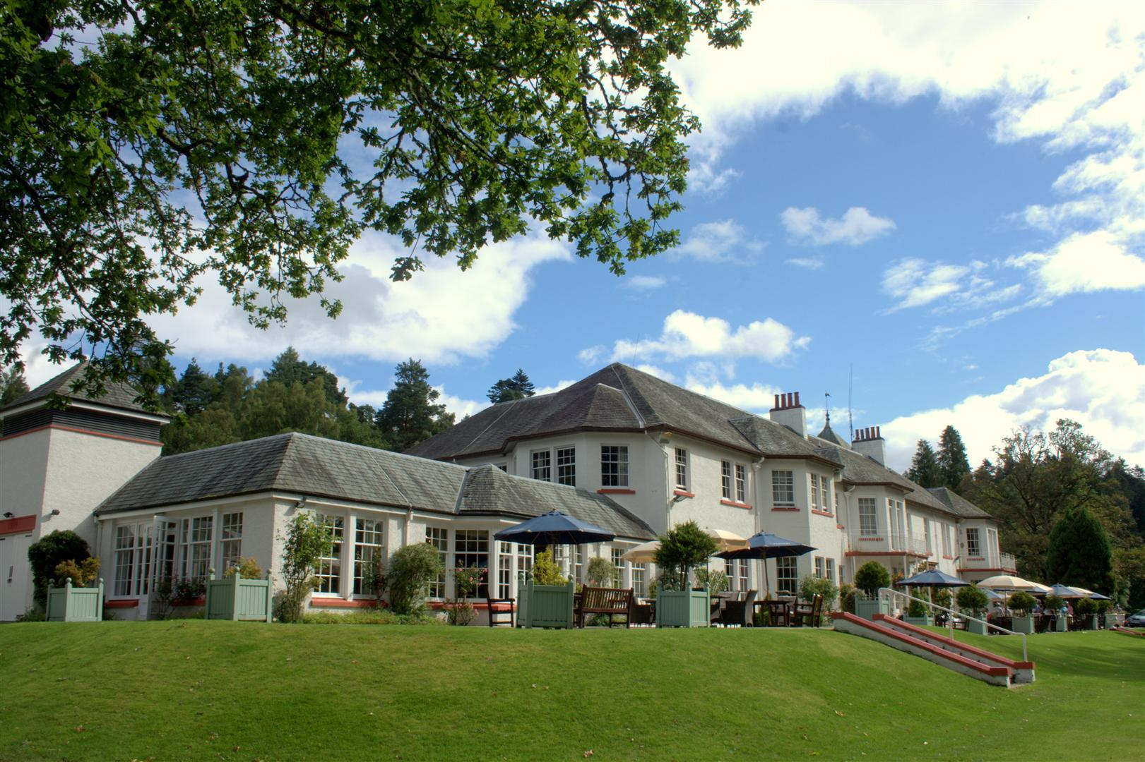 The Hilton Dunkeld House Hotel.