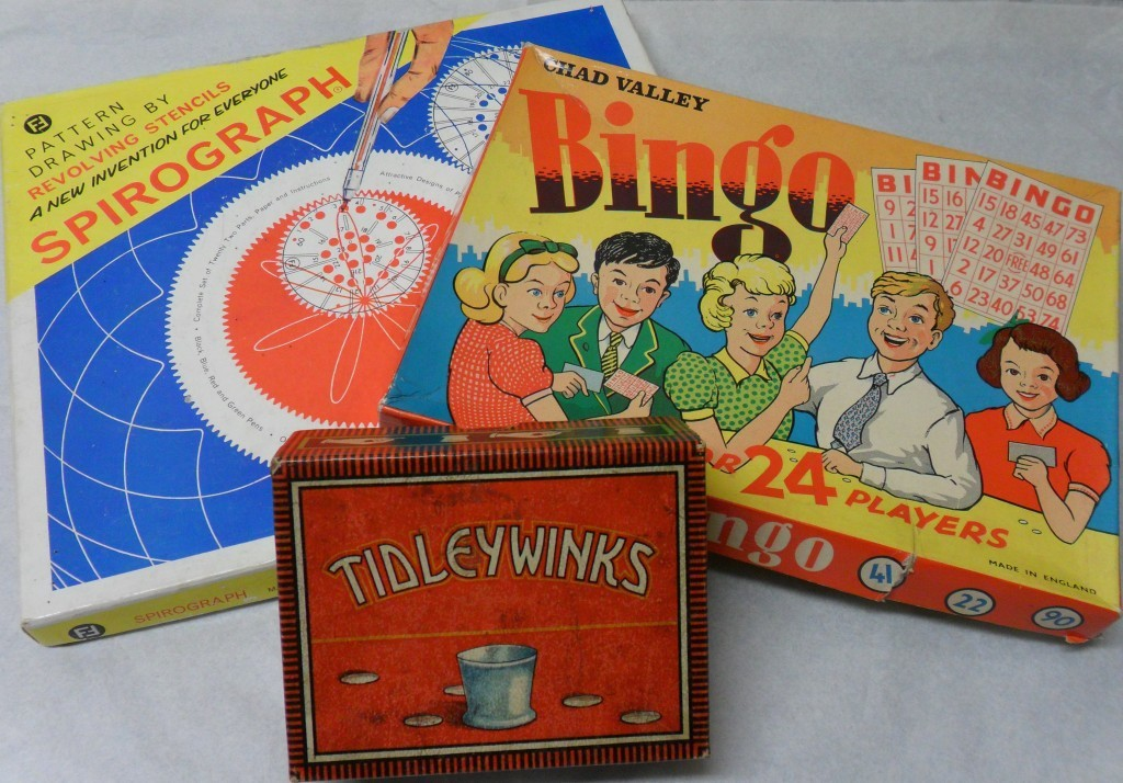 A selection of old games ready for this summer's exhibition in Perth.