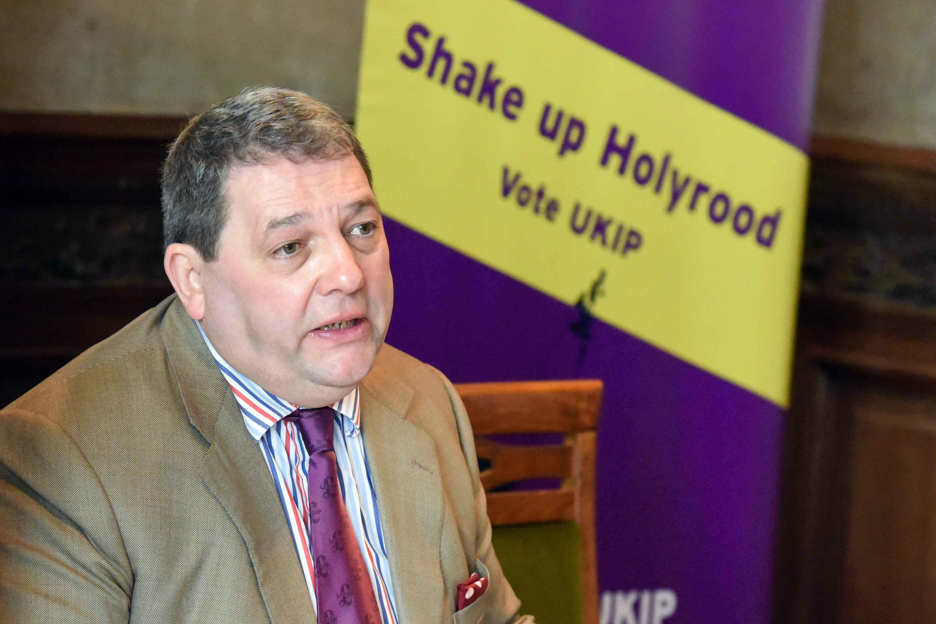 Ukip MEP David Coburn.