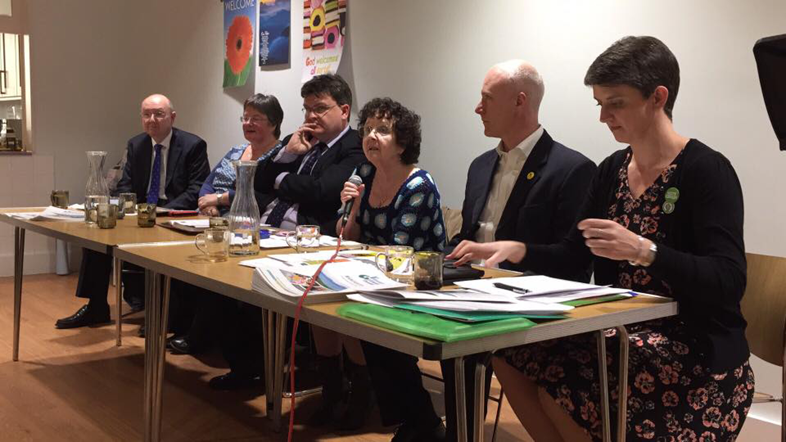 Politicians and members of the third sector held a hustings discussing the manifesto