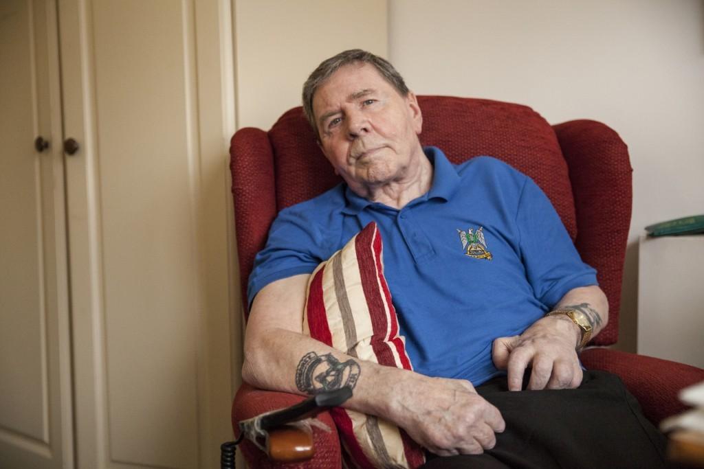 Army veteran Jim Wilson.