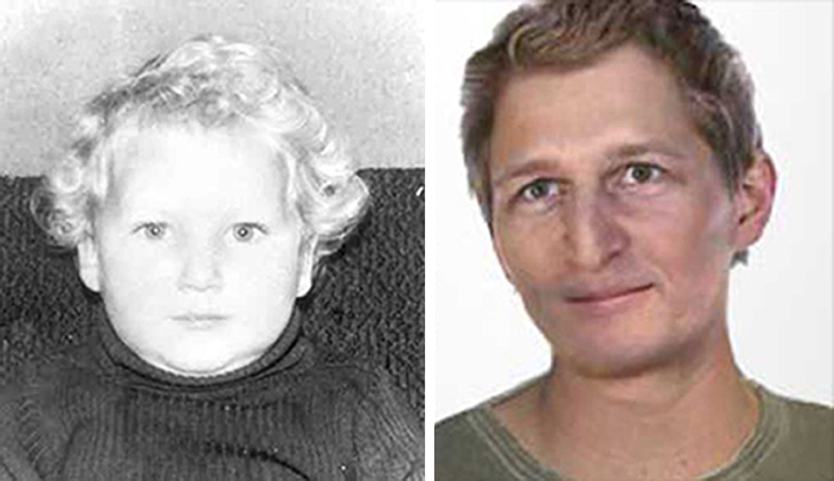 Sandy Davidson went missing in 1976. An 'age-progressed' image has been developed as police renew their appeal for information.