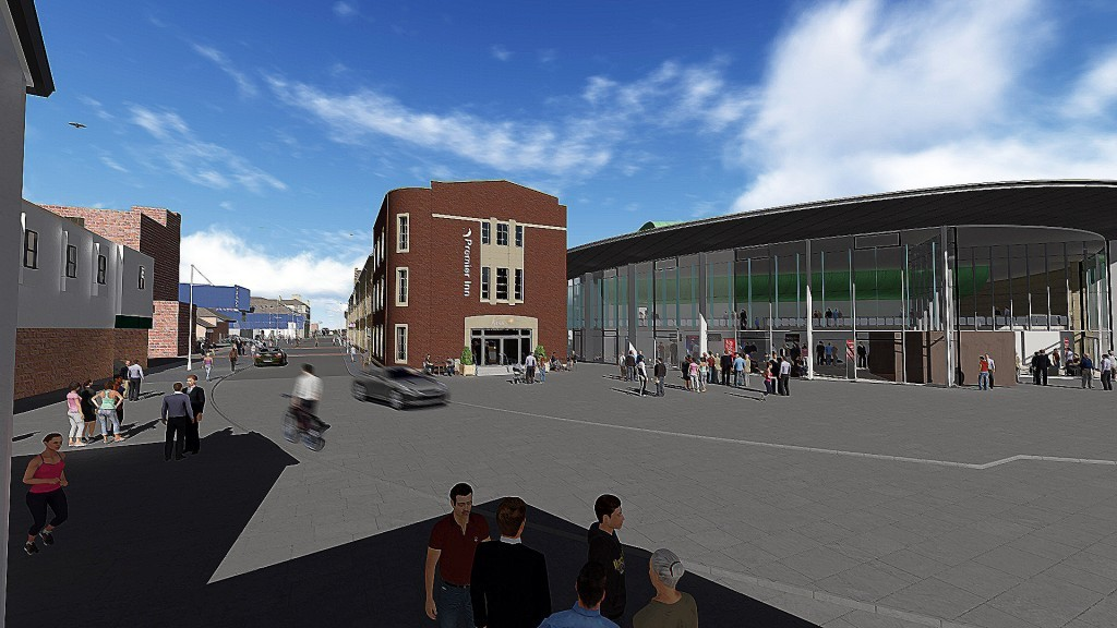 Plans to revamp Perth's Mill Street.