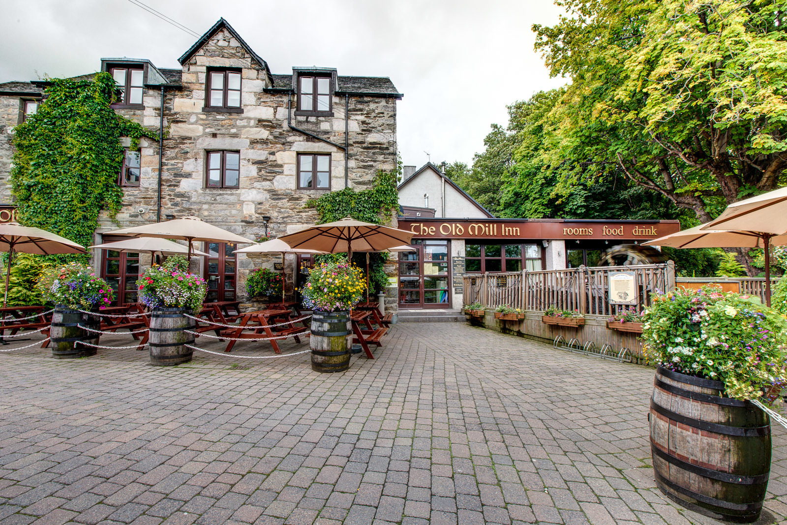 The Old Mill Inn at Pitlochry.