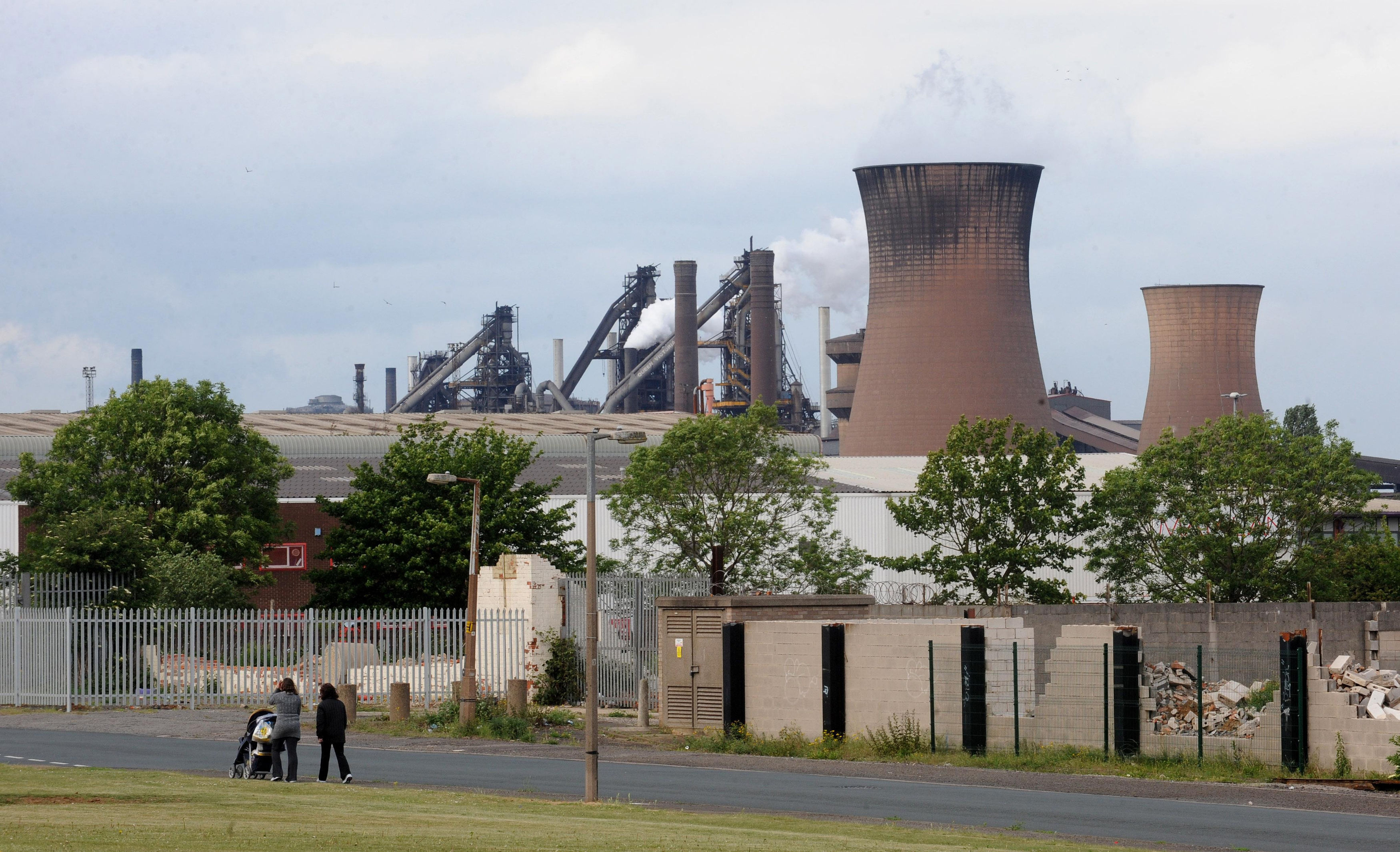 The steel plant, in Scunthorpe is to be taken over.