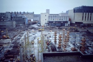 The building site at St John's Shopping Centre