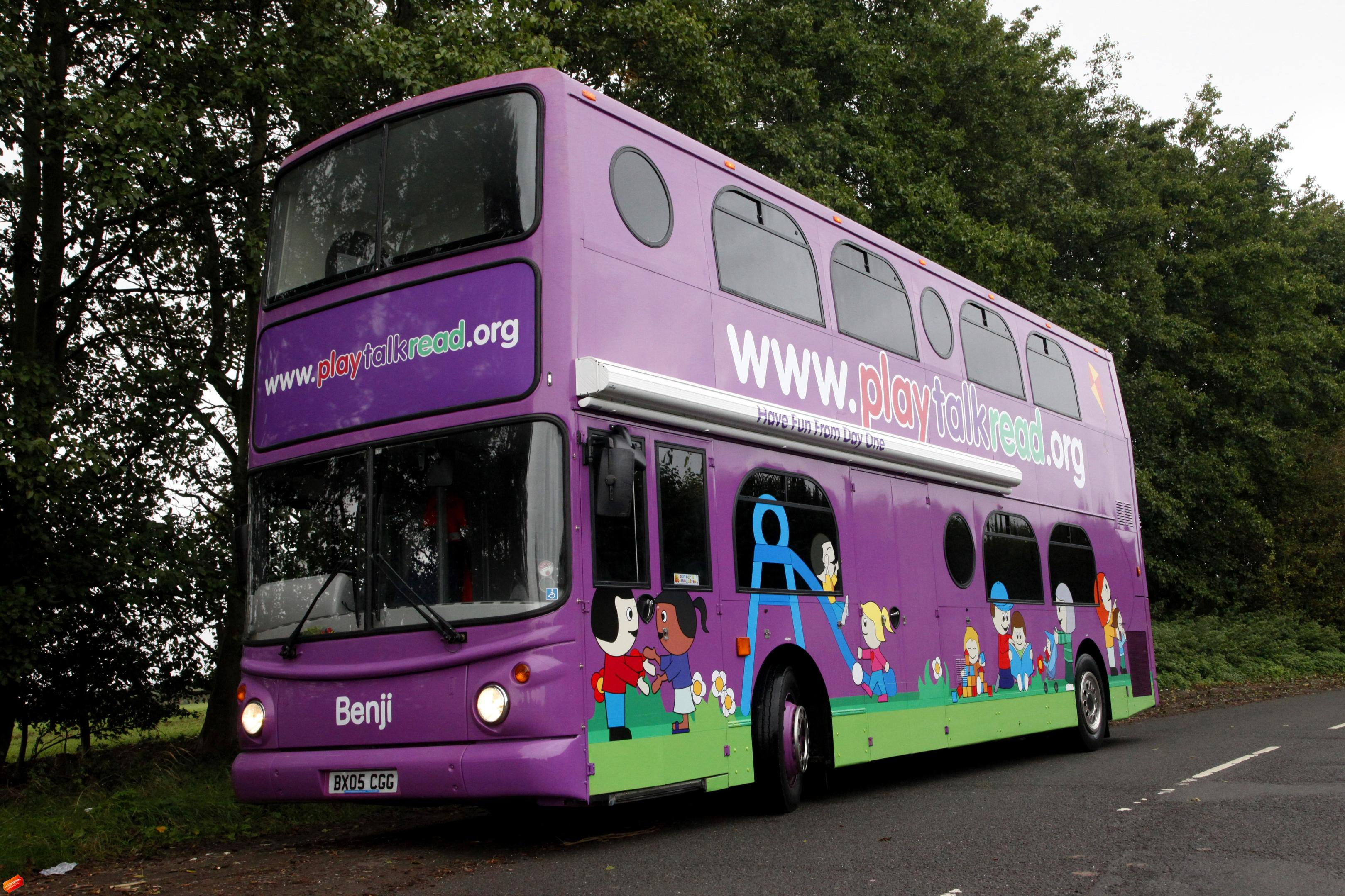 The PlayTalkRead bus.