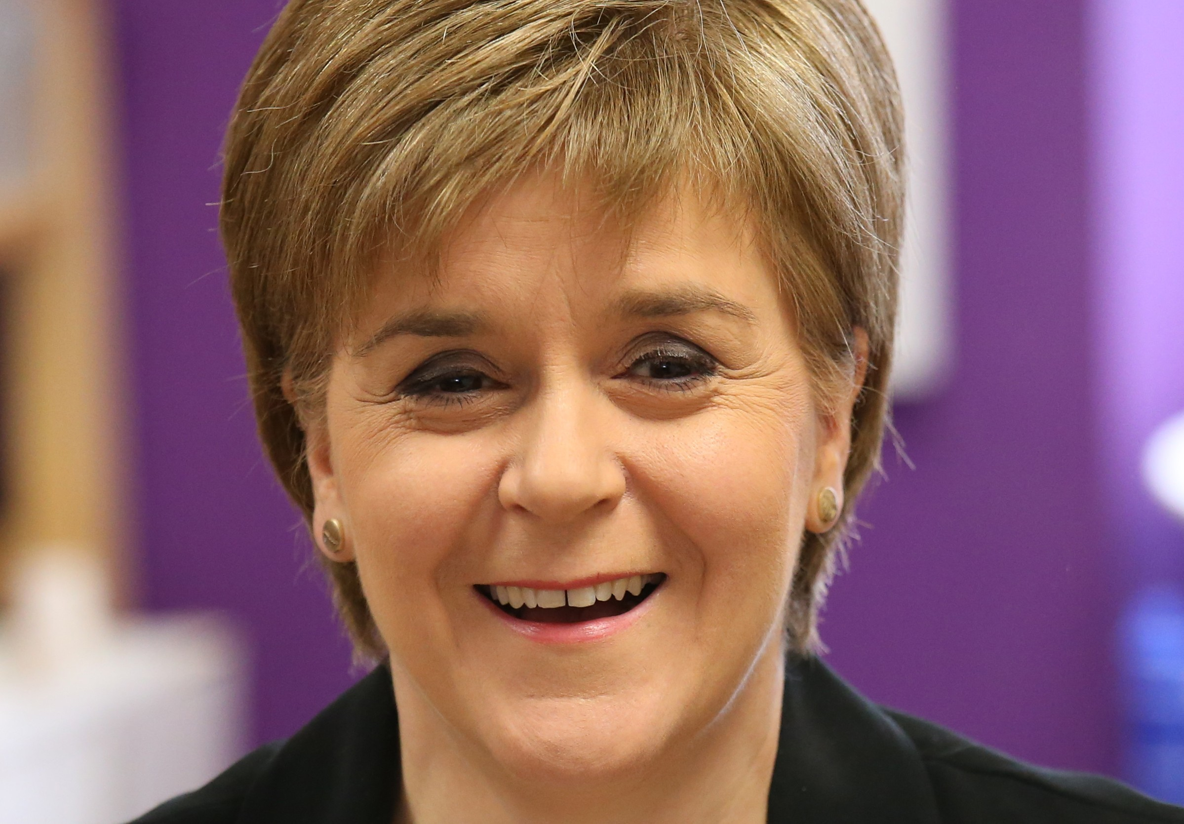 SNP leader Nicola Sturgeon.