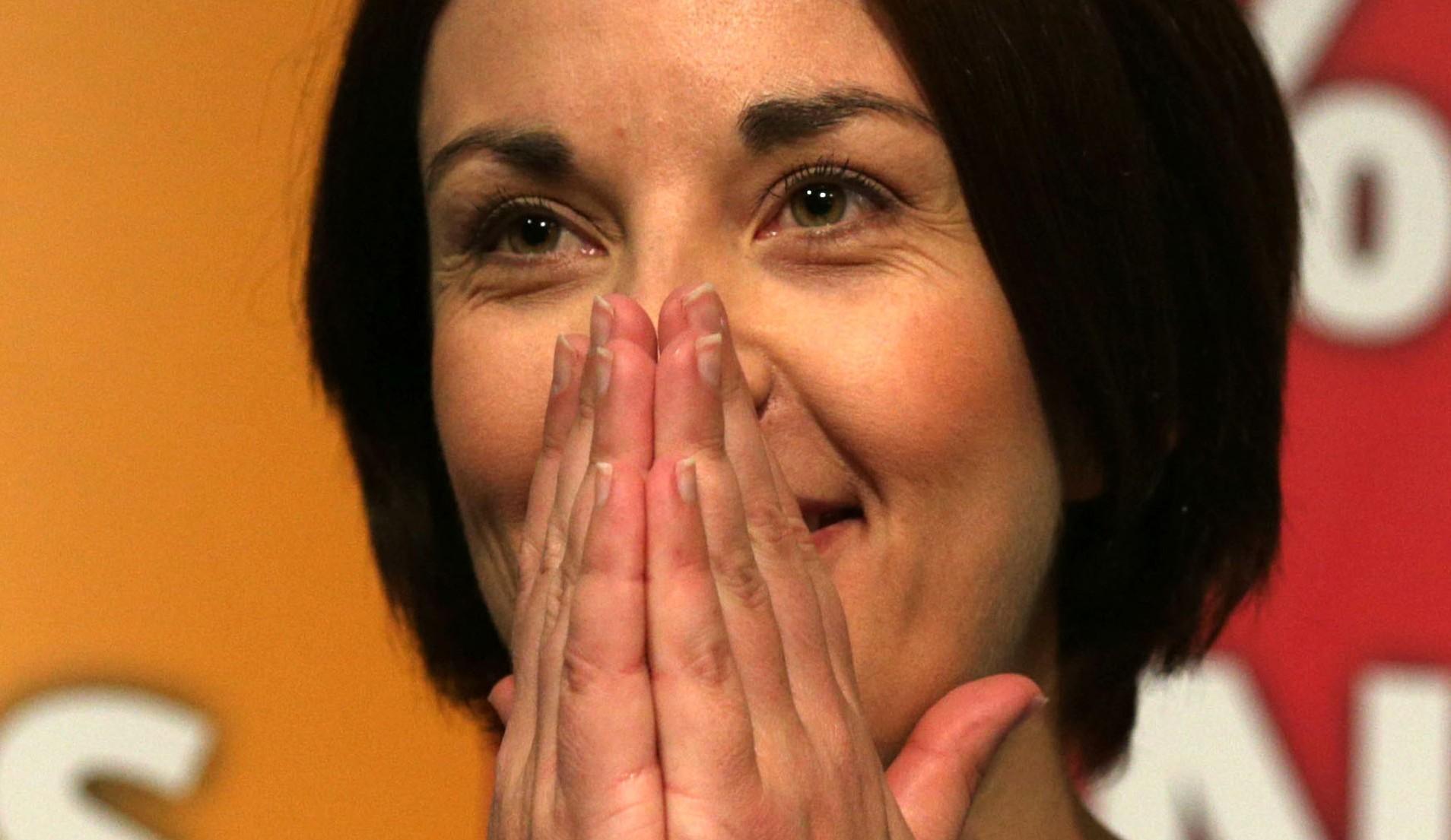 Scottish Labour leader Kezia Dugdal.