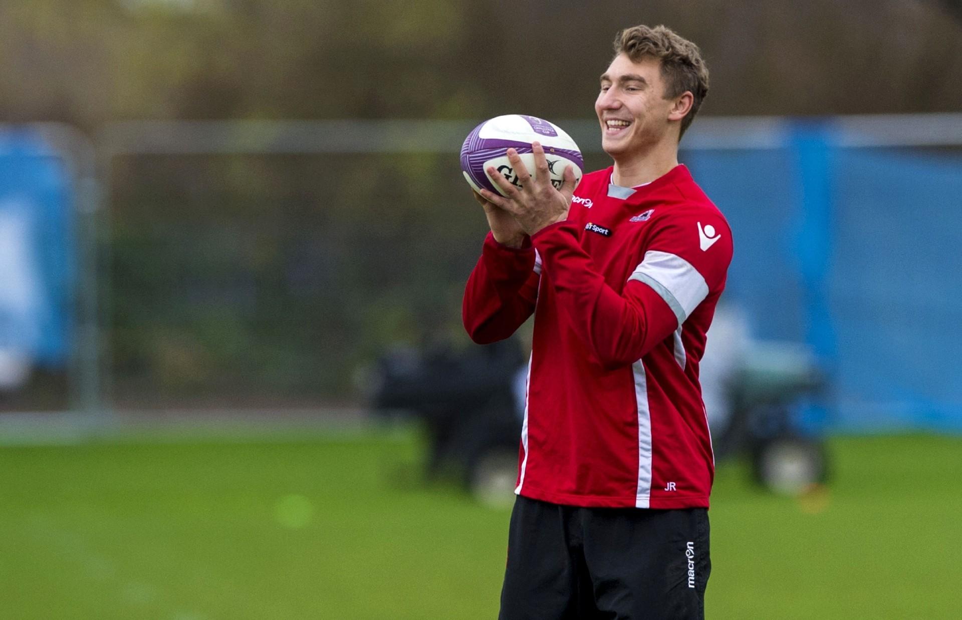 Teenager Jamie Ritchie is one Scottish player who has broken through at Edinburgh this season. Pic: SNS/SRU