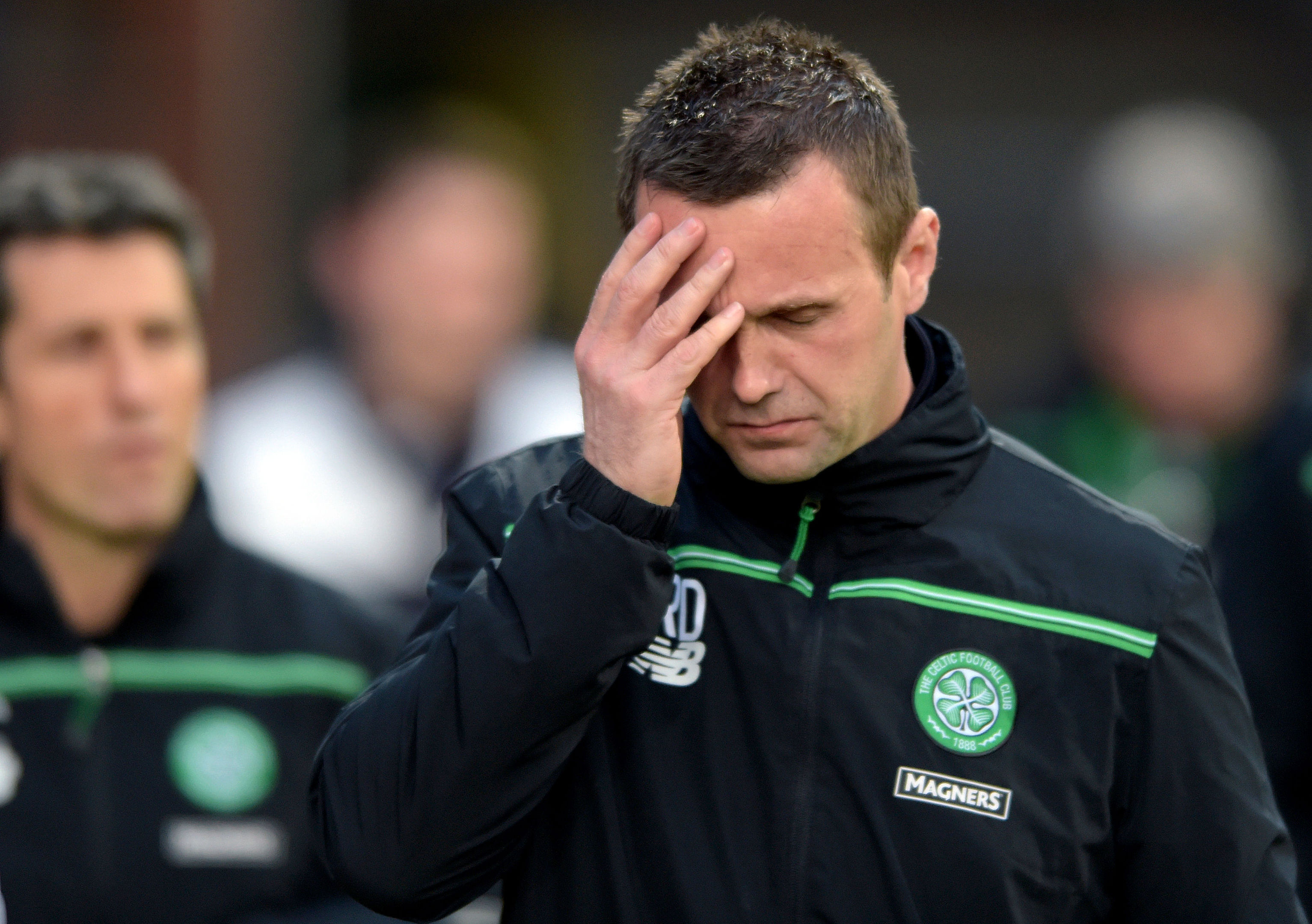 Ronny Deila will leave the Parkhead club at the end of the season.