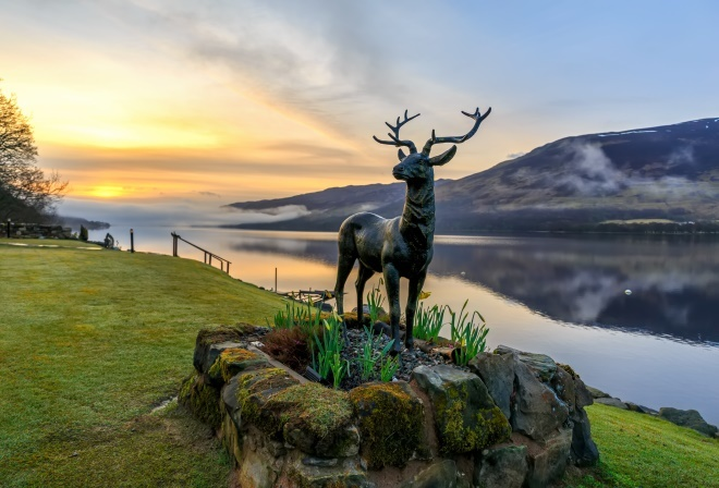 Stan the Stag - part of a new arts trail.