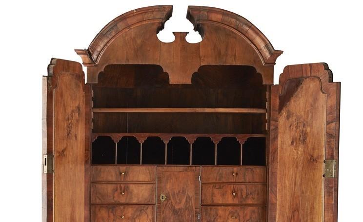 The George I bookcase.