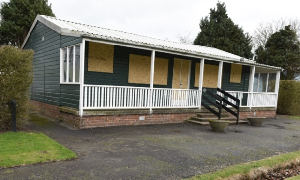 The former bowling pavilion.