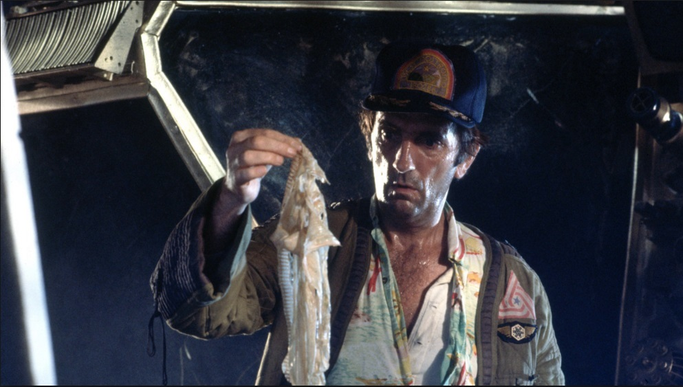 Harry Dean Stanton in Alien.