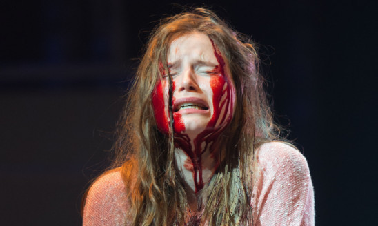 Rebecca Benson as vampire Eli.