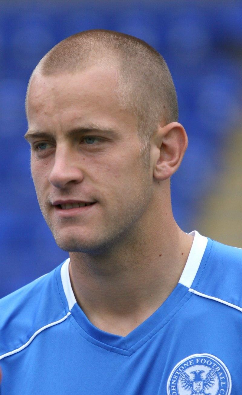 Danny Grainger, St Johnstone FC.