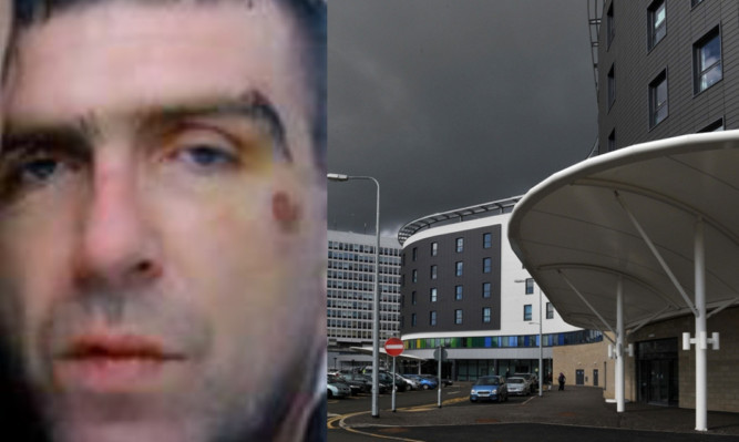 Sandy Clarke was last seen leaving the Victoria Hospital in Kirkcaldy.