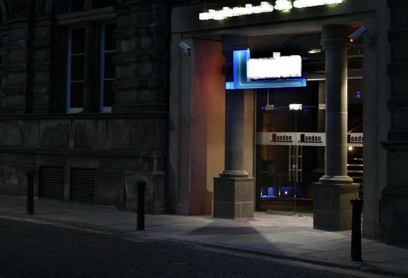 London Nightclub, Meadowside, Dundee.