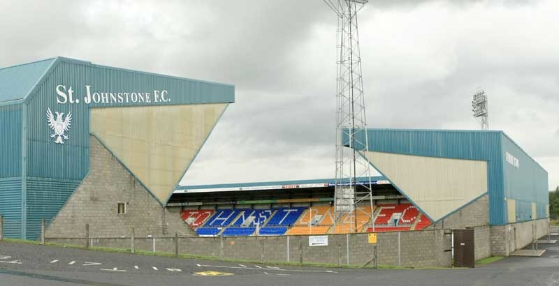 St Johnstone FC accounts etc announcement.    Pic shows McDiarmid Park, home of St Johnstone Football Club.
