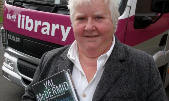 Author Val McDermid.