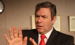 Ian Grieve as Gordon Brown.