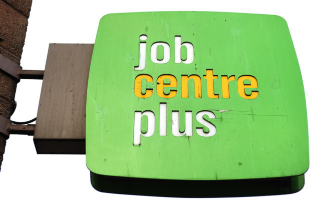 Kim Cessford - 05.03.13 - FOR FILE - pictured is one of the signs at the Job Centre Plus at Kirk Lane