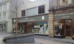 The store in Inverness.