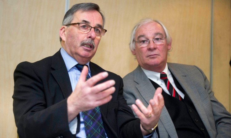 Bob Garmory, with Jim Leishman, insists the Pars are moving in the right direction.