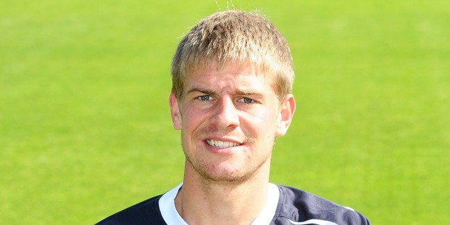 Steve MacDougall, Courier, Dens Park, Dens Road, Dundee. Dundee FC Team photocall. Pictured, Jamie Adams.