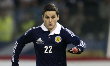 Craig Conway has played his way into the Scotland squad but is now looking for a club.