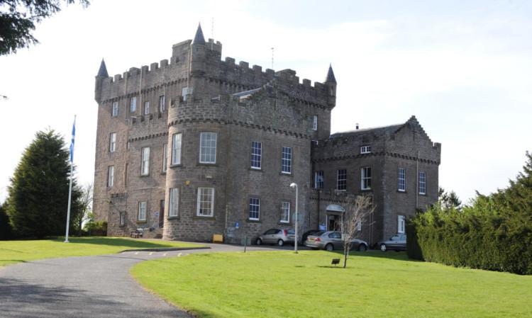 Castle Huntly open prison.