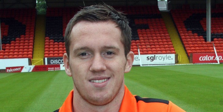 Danny Swanson, Dundee United FC.