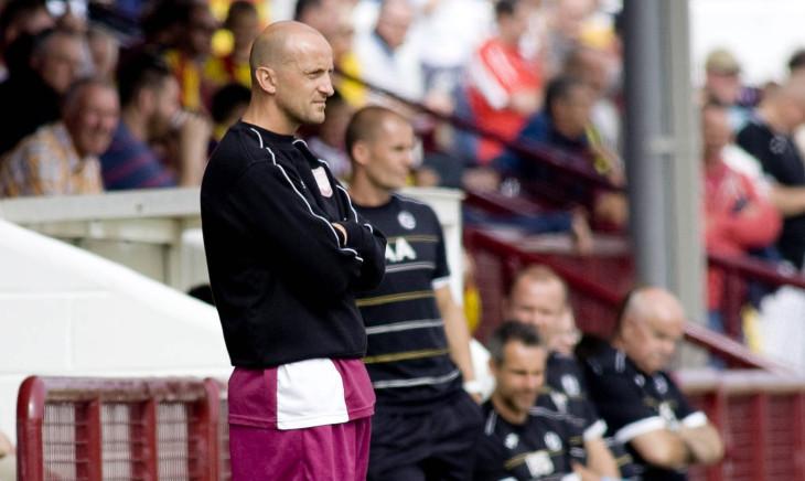 Arbroath manager Paul Sheerin.