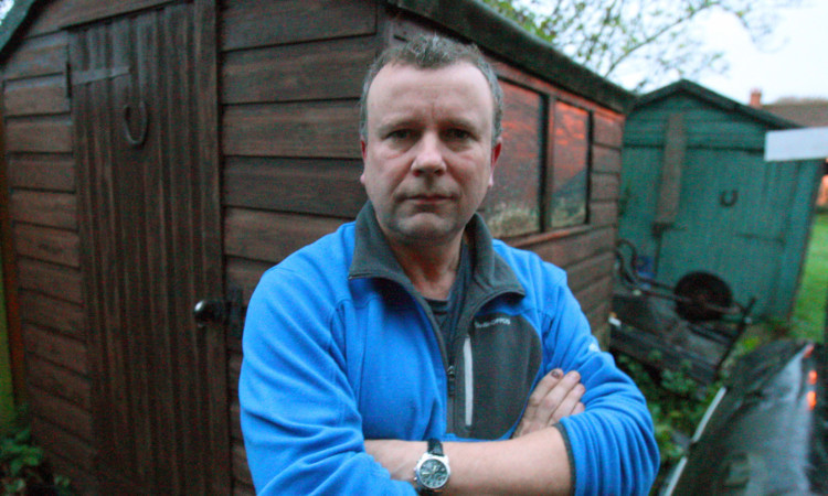 David Smith had £9000 worth of bikes and equipment stolen from his shed and garage.