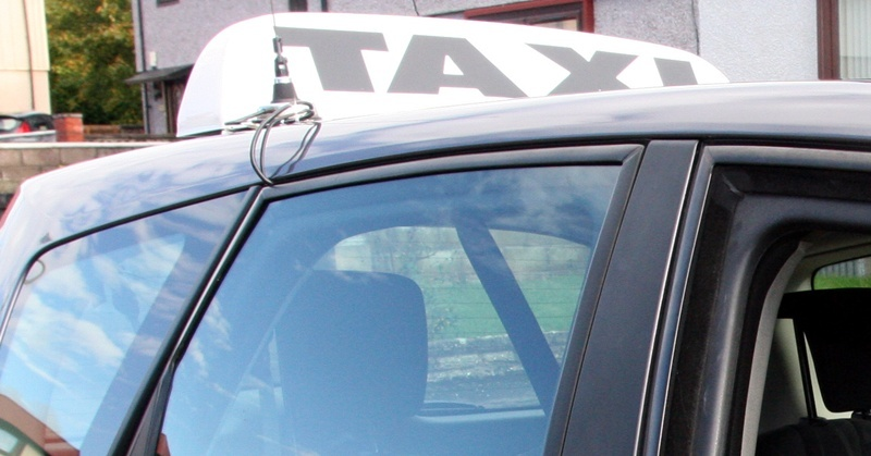 Dundee taxi driver Colin Westwood, who was targeted by stone-throwing youths.