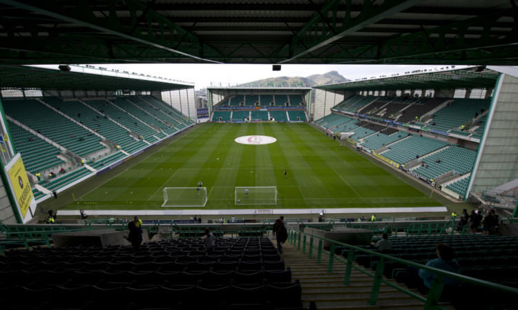 Easter Road is a possible host venue for the final.