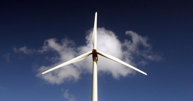 Green Knowes Wind Farm, Glendevon.  Scenic view of the wind turbines.  wind turbine.