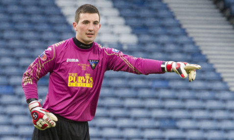 Ryan Goodfellow made his senior debut for the Pars.