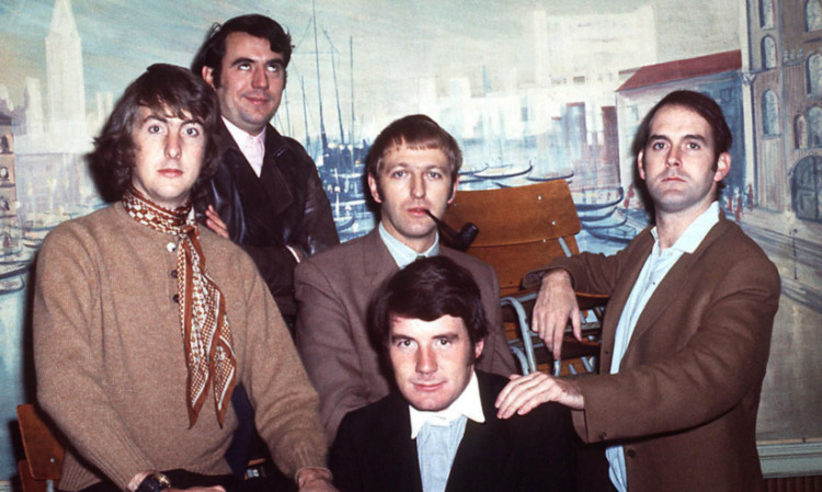Python members pictured in the glory days of the groundbreaking comedy show.