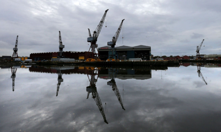 Hundreds of shipbuilding jobs are being axed at BAE Systems on the Clyde.
