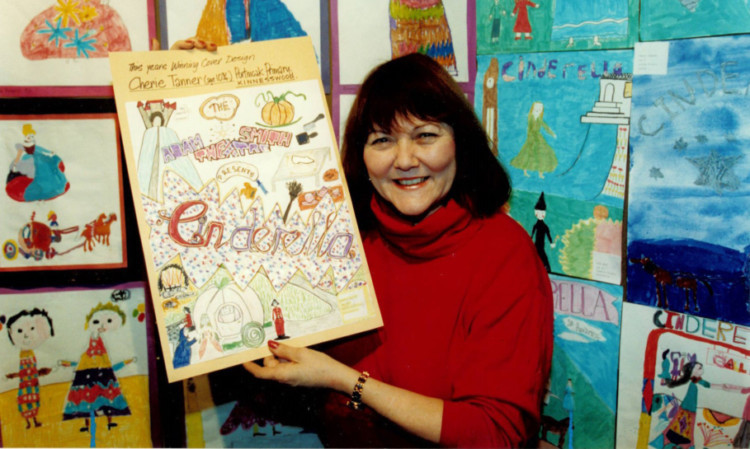 Mary Riggans as Suzie Sweet in Balamory.