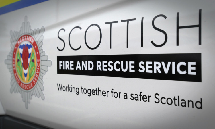 Kim Cessford - 11.06.13 - FOR FILE - pictured is the logo of the Scottish Fire and Rescue Service