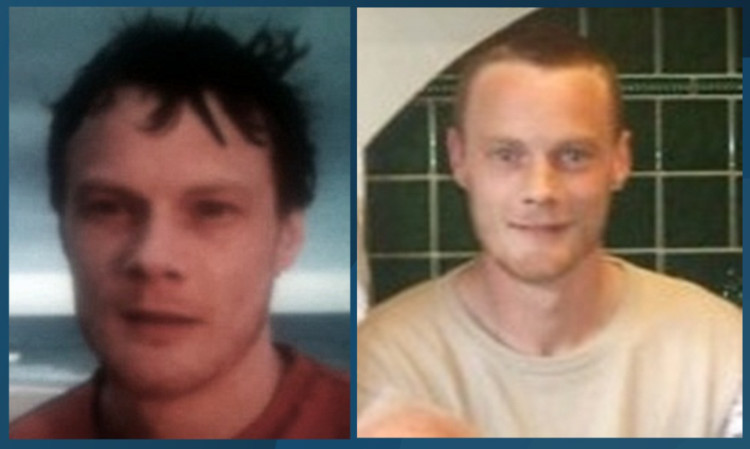 Photos of Mark Wilson issued by police.