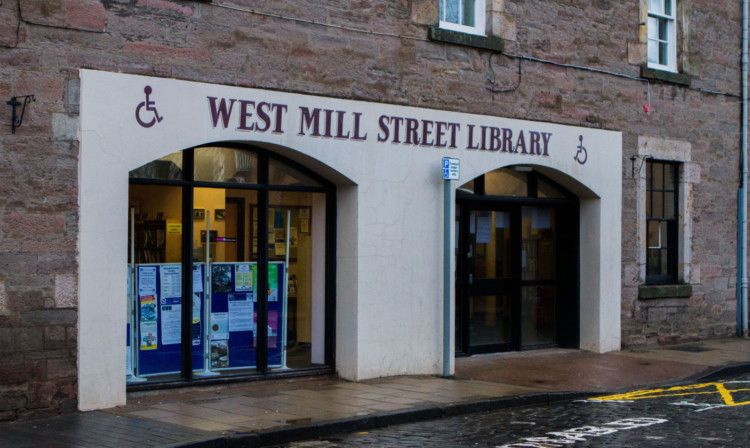 The West Mill Street Library in Perth has been earmarked for closure.