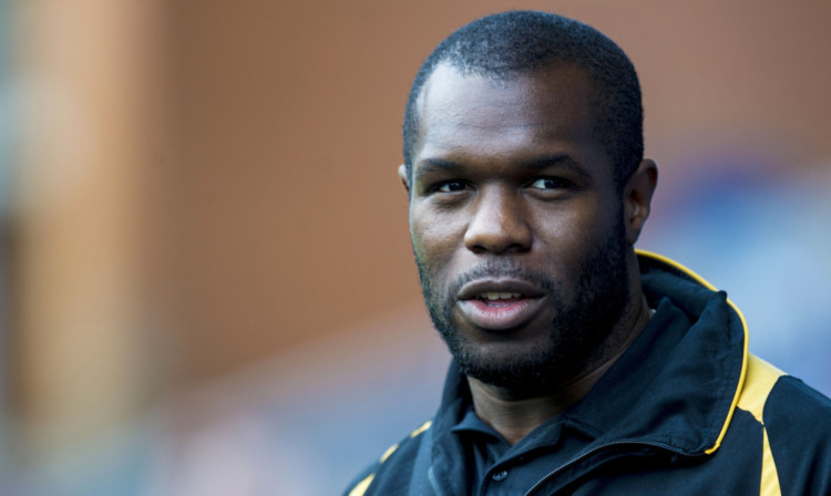 Christian Nade has been training with the Dens Park side.